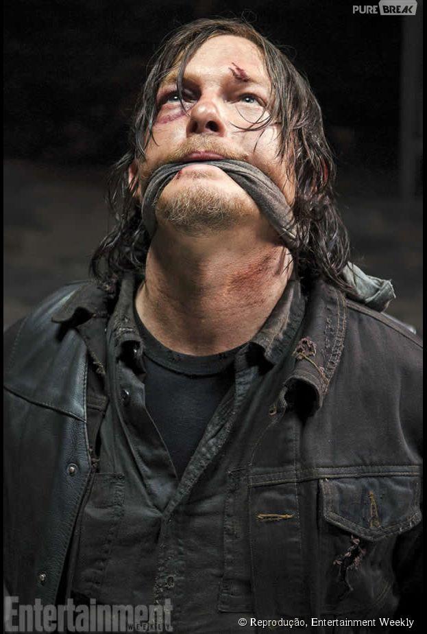 "Primeira imagem oficial da quinta temporada de ""The Walking Dead"""