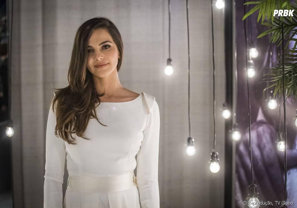 "Marina (Tainá Müller) fica super fofa de noiva na novela ""Em Família"""