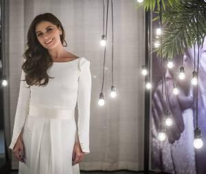 """Clara (Giovanna Antonelli) fica linda de noiva na novela """"Em Família"""""""