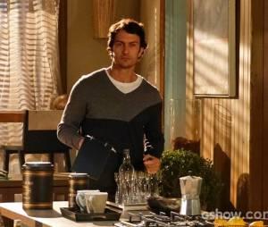"""Laerte (Gabriel Braga Nunes) vai ser baleado após seu casamento na novela """"Em Família"""""""