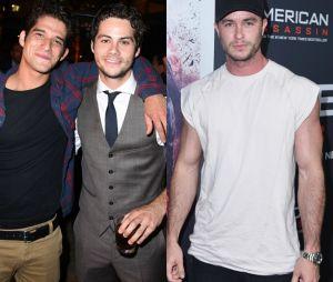 "De ""Teen Wolf"", Tyler Posey e Ryan Kelley estiveram em Los Angeles para prestigiar Dylan O'Brien"