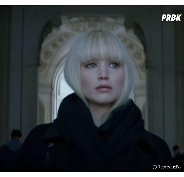 """Jennifer Lawrence volta para os filmes de ação com """"Operação Red Sparrow"""""""