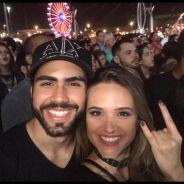 Juliana Paiva e Juliano Laham aparecem juntos em foto após boatos de término
