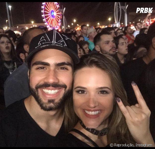 Juliana   Paiva e Juliano Laham aparecem em foto após boatos sobre término