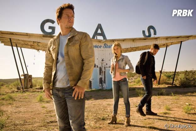 """Mark Wahlberg estrela """"Transformers: A Era da Extinção"""", que chega nesta quinta-feira (17) aos cinemas brasileiros"""