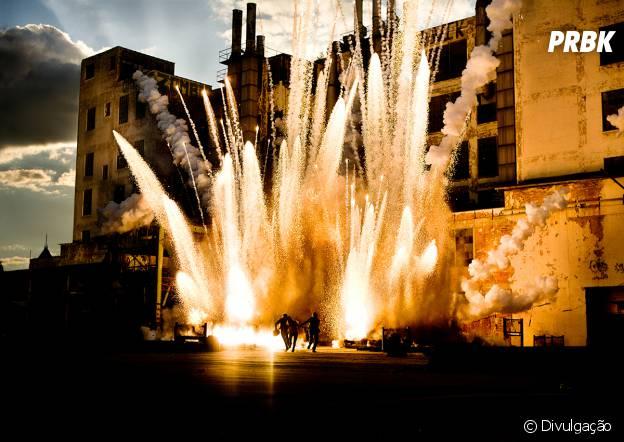 """Explosões e efeitos visuais são a grande atração de """"Transformers: A Era da Extinção"""""""