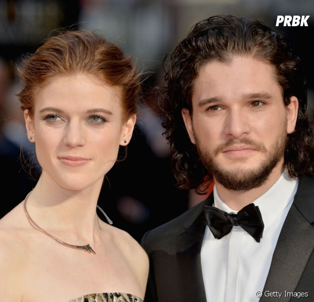 de game of thrones kit harington e rose leslie est o noivos de acordo com jornal purebreak. Black Bedroom Furniture Sets. Home Design Ideas