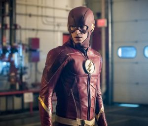 "Novo uniforme de Barry (Grant Gustin) é destaque em fotos da 4ª temporada de ""The Flash"""