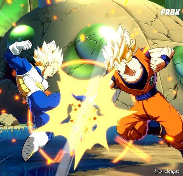 """Em """"Dragon Ball FighterZ"""": game traz lutas icônicas!"""