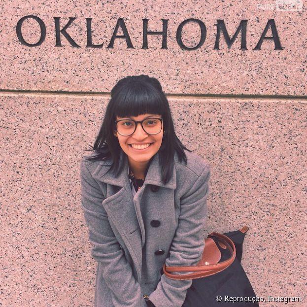 Rafaella Kieds foi estudar Engenharia de Petróleo em Tulsa, no estado de Oklahoma, localizado nos EUA