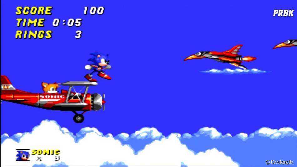 Jogo de Sonic chega aos smartphones da Apple e com Android