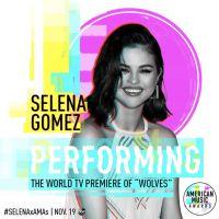 """Selena Gomez vai cantar """"Wolves"""" no American Music Awards 2017!"""