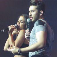 """Anitta com música nova? Artista canta """"Coladinha em Mim"""" com Gustavo Mioto durante show!"""