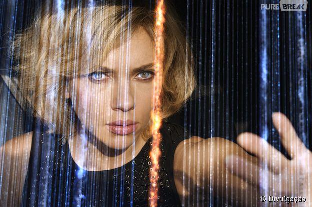 "Scarlett Johansson é a protagonista da ""Lucy"""