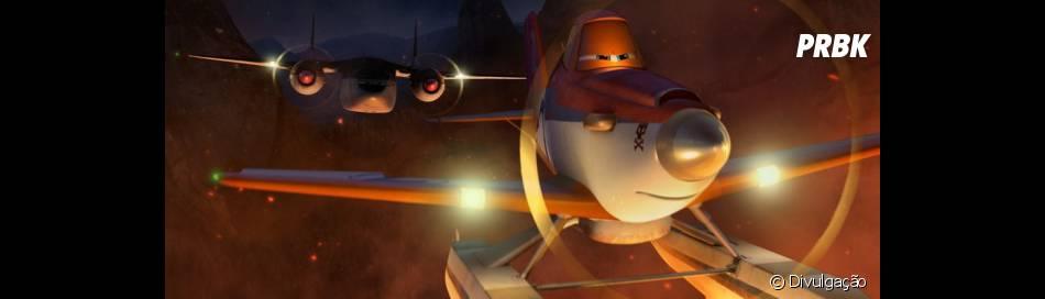 Sequência da animação da Disney de 2013 traz aviões de uma brigada de incêndio