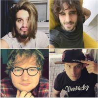 Luan Santana, Fiuk, Ed Sheeran, Tyler Posey e mais 16 galãs feios que amamos!