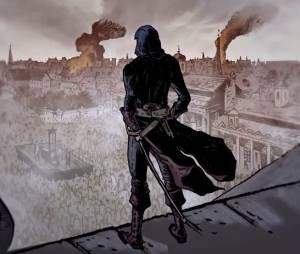 """Uma animação sangrenta de """"Assassin's Creed: Unity"""""""