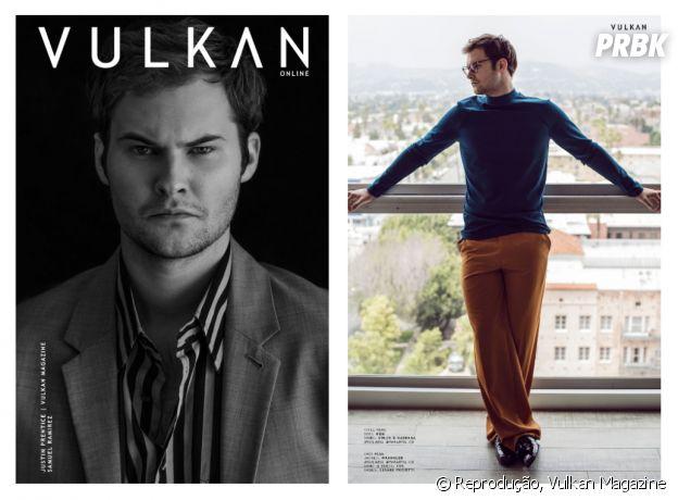"""Justin Prentice, o Bryce de """"13 Reasons Why"""", posa para revista Vulkan e fala sobre personagem"""