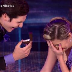 """No """"Dança dos Famosos"""": Nicolas Prattes pede Mayara Araújo na apresentação!"""