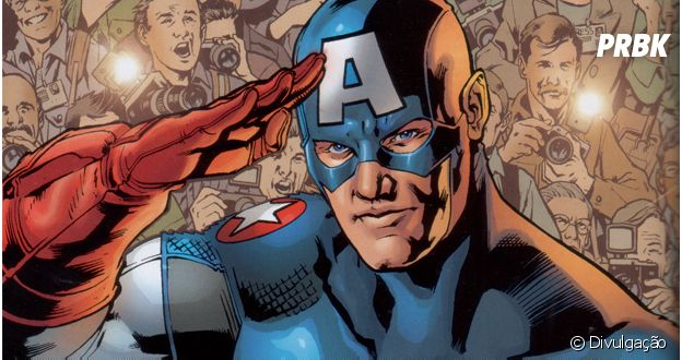 Capitão América comanda a equipe dos Vingadores!