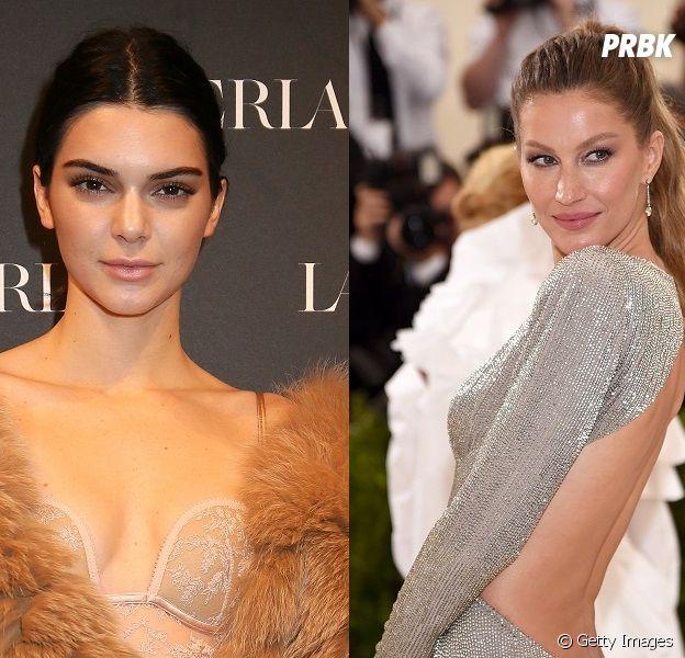Kendall Jenner ultrapassa Gisele Bundchen e é modelo mais bem paga do mundo