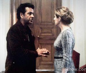 """Em """"O Rebu"""", Angela (Patrícia Pillar) será interrogada por Pedroso (Marcos Palmeira)"""