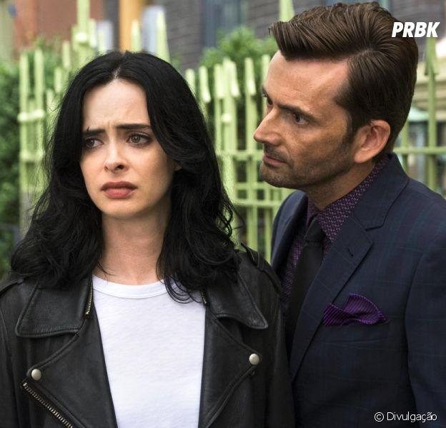 """De """"Jessica Jones"""": primeira foto da segunda temporada é divulgada e revela volta de Kilgrave (David Tennant)"""