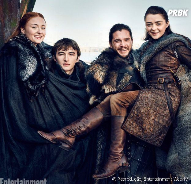 "De ""Game of Thrones"", Sophie Turner comemora desfecho da série!"
