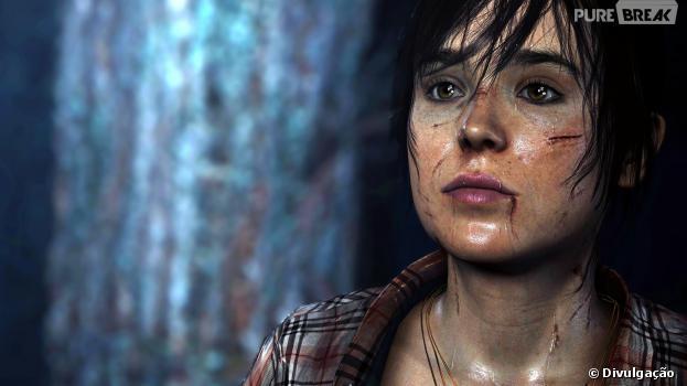 """Ellen Page é protagonista de """"Beyond: Two Souls"""""""