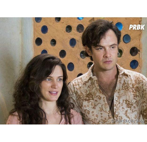"""Em """"O Outro Lado do Paraíso"""", Gael (Sergio Guizé) ajuda Clara (Bianca Bin) a se reaproximar do filho"""