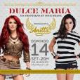 "Anitta se apresenta com Dulce Maria na turnê ""Sin Fronteras"""