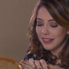 """Novela """"Carinha de Anjo"""": Cecília (Bia Arantes) ganha aliança de Gustavo após pedido de casamento"""