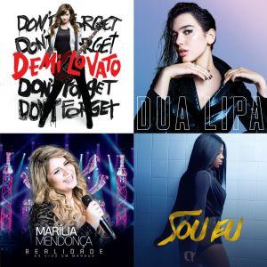 Demi Lovato, Dua Lipa, Marília Mendonça, Ludmilla e mais: 18 músicas que combinam com os aquarianos!