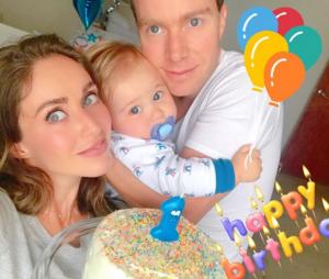 Anahi comemora 1º aniversário do filho, Manuel
