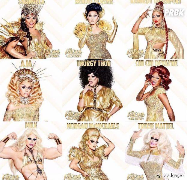 """Relembre o desempenho das participantes de """"RuPaul's Drag Race All Stars 3"""" em suas temporadas!"""