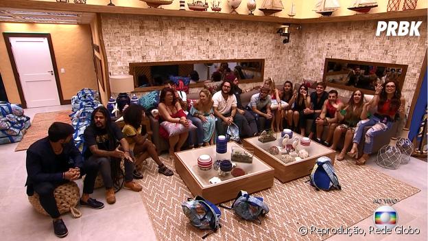 "Os 16 participantes do ""BBB18"" entraram na casa! Veja como foi o programa de terça-feira (23)"