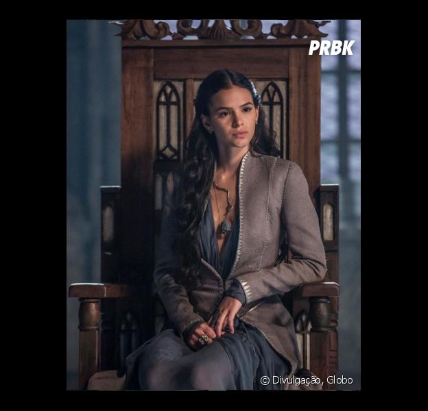 """Bruna Marquezine está sendo um pouco criticada por conta da Catarina, de """"Deus Salve o Rei"""""""