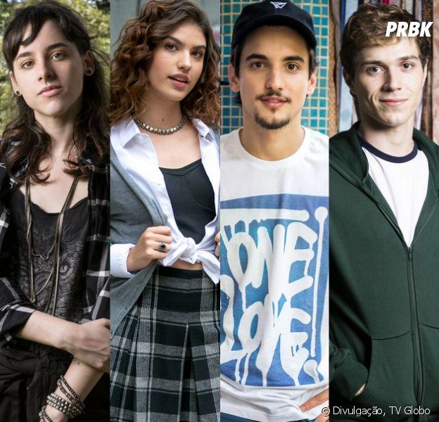 """Em """"Malhação"""", Lica, Samantha, Gabriel e Felipe sofrem ataque homofóbico de Rafa"""