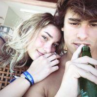 Sasha Meneghel e Bruno Montaleone trocam declarações e reclamam de saudade