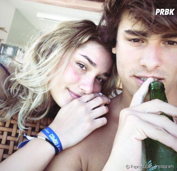 Sasha Meneghel e Bruno Montaleone trocam declarações no Instagram