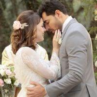 """Novela """"Carinha de Anjo"""": Cecília (Bia Arantes) e Gustavo se casam! Veja fotos"""