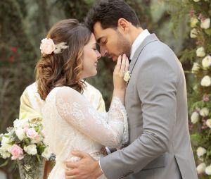 """Em """"Carinha de Anjo"""", Cecília (Bia Arantes) e Gustavo (Carlo Porto) se casam!"""