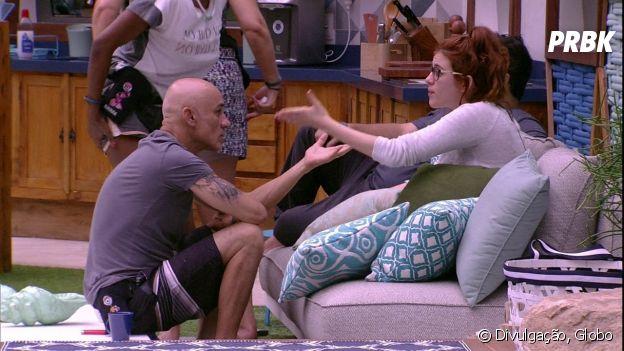 """Do """"BBB18"""", Ayrton e Ana Clara têm uma relação tensa"""
