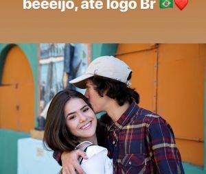 Maisa Silva já postou algumas fotos fofas com Nicholas Arashiro, seu primeiro namorado