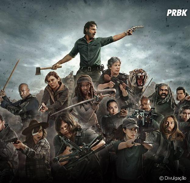 """De """"The Walking Dead"""": o retorno da oitava temporada é um dos mais esperados da série"""