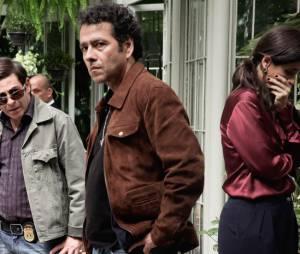 """Em """"O Rebu"""", Roberta (Mariana Lima) fica impressionada com o que vê"""