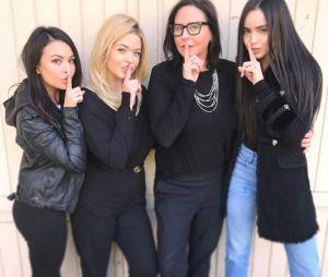 """""""Pretty Little Liars: The Perfectionists"""": atrizes aparecem em leitura de roteiro da nova série"""