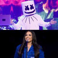 Após Selena Gomez, Demi Lovato fará música com Marshmello!