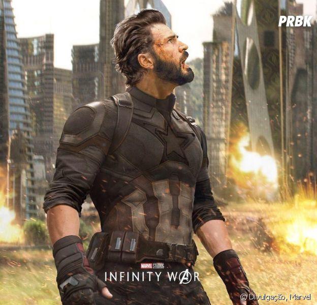 """Chris Evans vai parar de interpretar o Capitão América após """"Vingadores 4"""""""