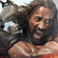 Em vídeo de bastidor, The Rock diz que nasceu para ser Hércules
